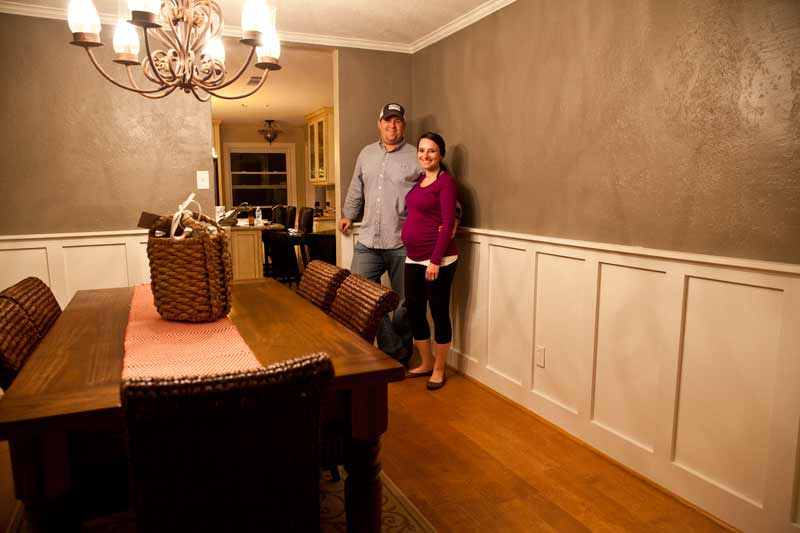 Wainscoting Remodel Houston